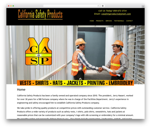 WP template Headway Base - casafetyproducts.com