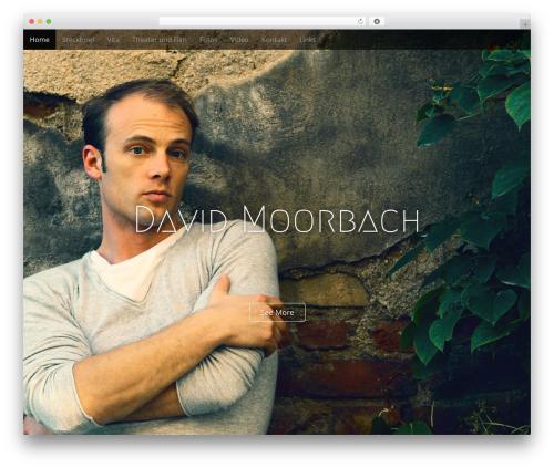 Arcade Basic WordPress theme download - davidmoorbach.com