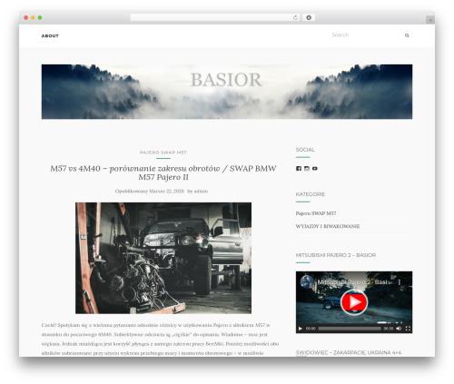 Best WordPress template Activello - basior.com