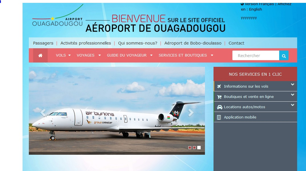 Best WordPress template ouagaairport