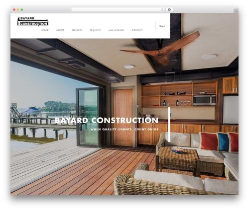 Template WordPress Domik - bayard-construction.com