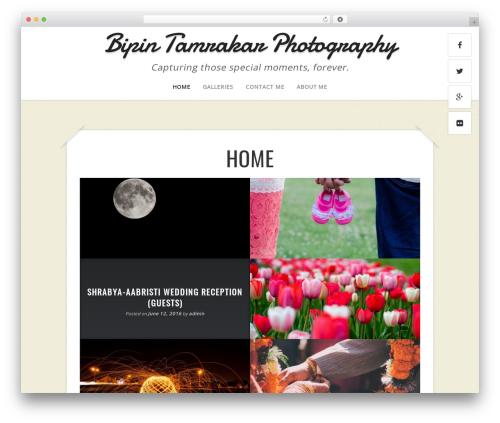 Best WordPress template Capture - btamrakar.com