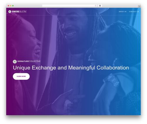 Movedo theme WordPress - oursignaturecollective.com