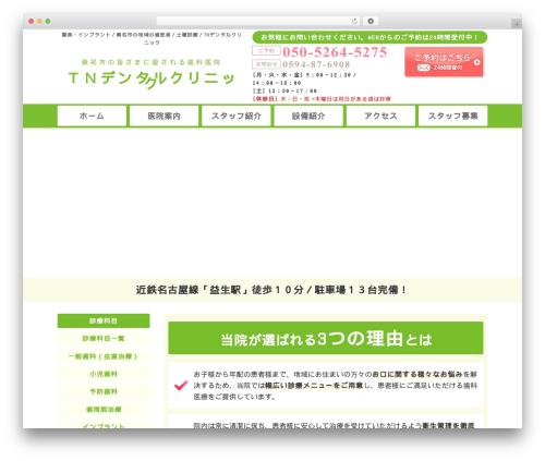 WP theme 歯科テーマ - tn-dental.com