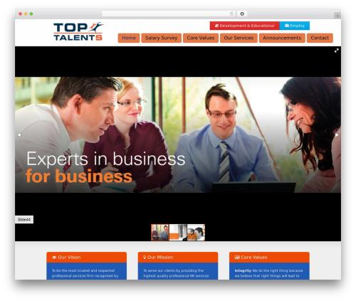 Striking MultiFlex & Ecommerce Responsive WordPress Theme WordPress ecommerce theme - toptalents-eg.com