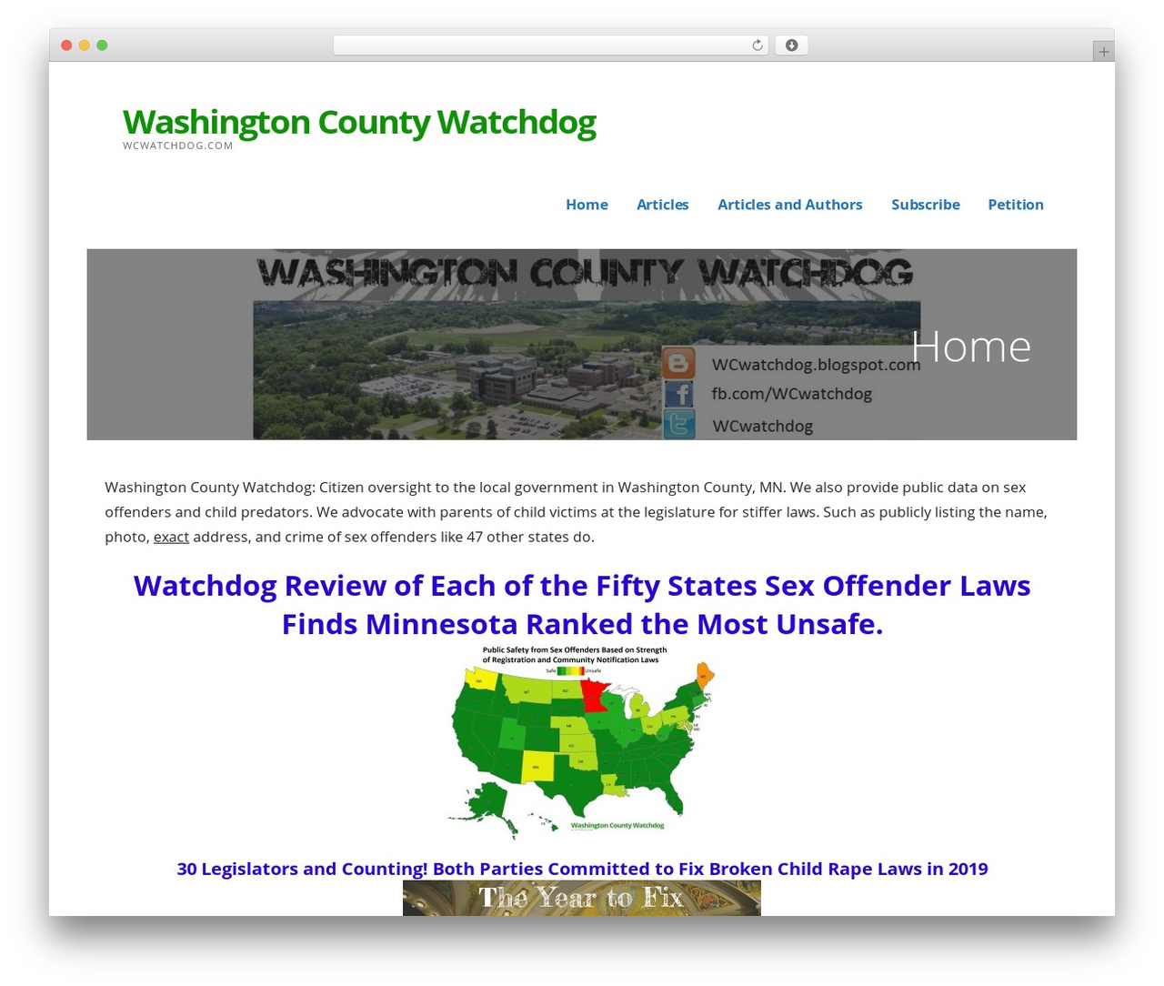WP template Ascension - wcwatchdog.com