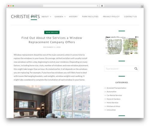 Brimstone premium WordPress theme - christiepits.ca