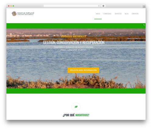 California WordPress theme - consultoramedioambiental.com