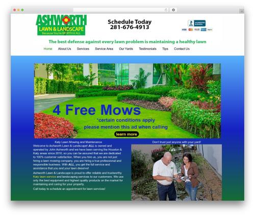 Striking MultiFlex & Ecommerce Responsive WordPress Theme WordPress theme - ashworthlandscapes.com