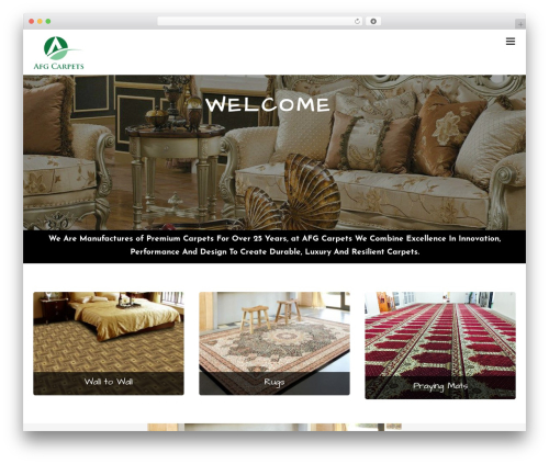 Themify Ultra best WordPress template - afg-carpets.com