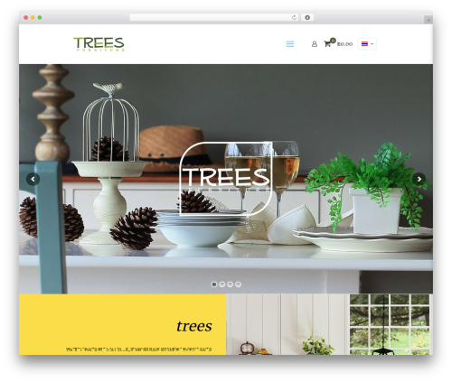 Betheme best WordPress template - treesfurniture.com