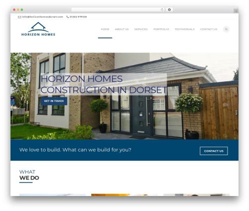 California top WordPress theme - horizonhomesdorset.com
