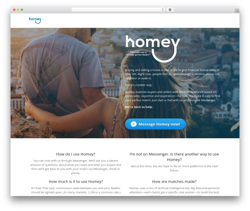 Layers theme WordPress - homeyhelps.com