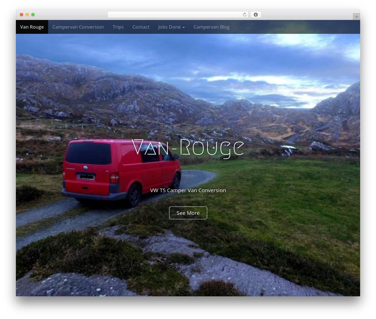 Arcade Basic free WP theme - van-rouge.com