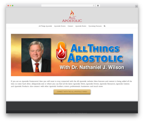Avada best WordPress template - allapostolic.com