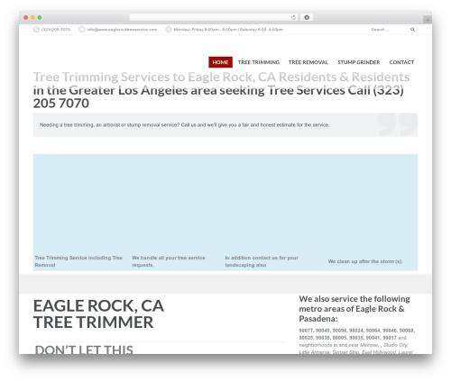 PressCore theme WordPress - eaglerocktreeservice.com