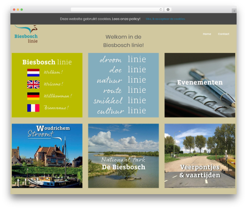 Template WordPress WhiteLab - biesboschlinie.com