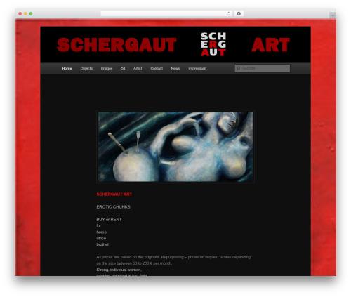 Twenty Eleven WordPress theme download - schergaut-art.com