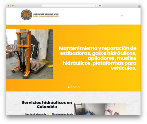 Betheme best WordPress theme - servicioshidraulicos.com