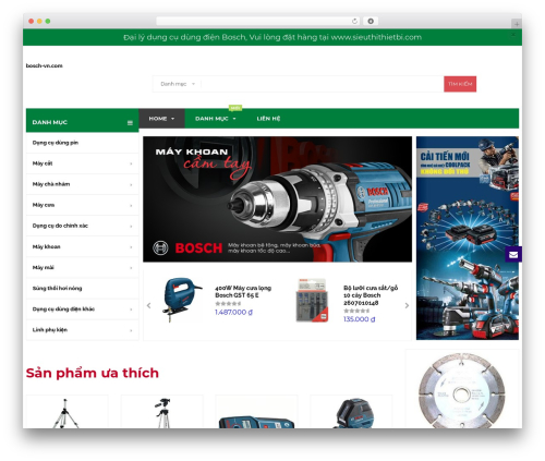 BigBoom WordPress theme - bosch-vn.com