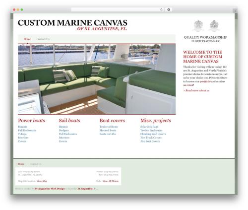 Bootstrap Basic best free WordPress theme - cmcanvas.com