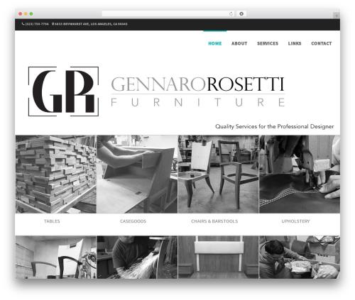 Formation free WordPress theme - gennarorosetti.com