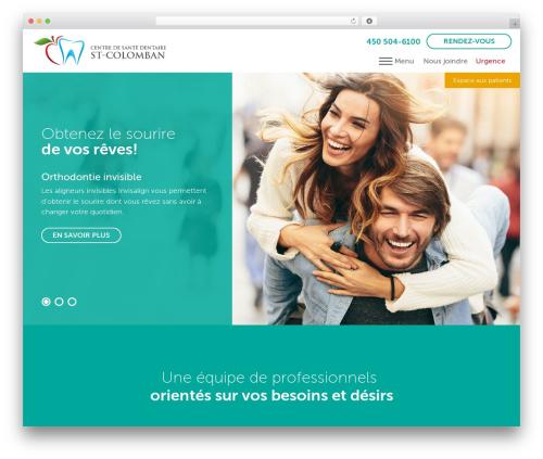 PloggMedia theme WordPress - dentistestcolomban.com
