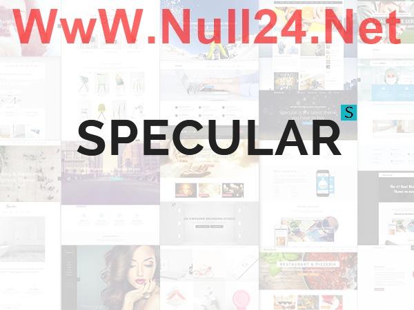 Specular-Null24.Net WordPress portfolio theme