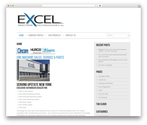 WordPress template Hannari - emtcnc.com