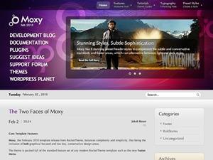 WordPress theme Moxy Wordpress Theme