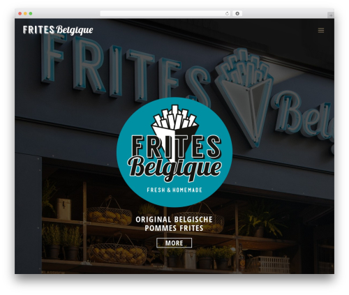 WordPress website template Betheme - frites-belgique.com