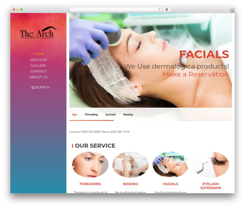 BeautySpot theme WordPress - the-arch.com