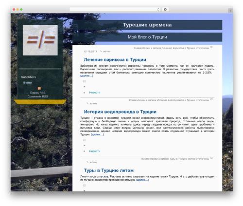 Best WordPress theme OnTheSide - turkeyt.ru