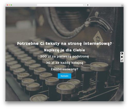 Gantry Theme for WordPress WordPress theme - tekstynastrone.pl