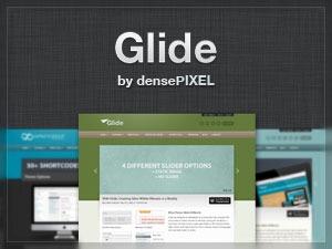 Glide best portfolio WordPress theme