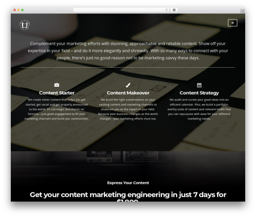 lax WordPress theme - tallyandtales.com