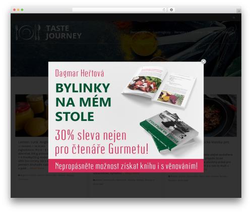 Pinnacle template WordPress free - tastejourney.cz
