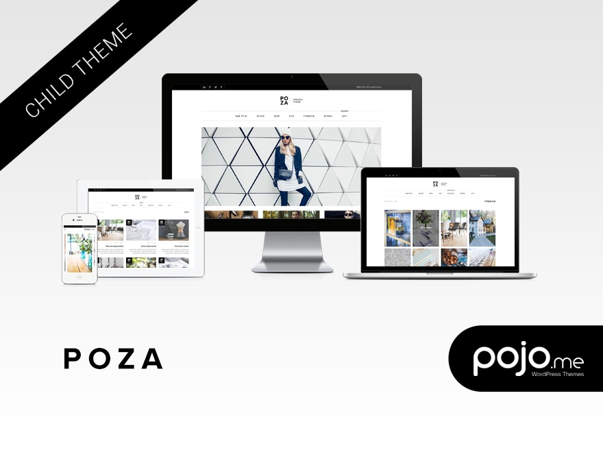 Poza Child WordPress theme