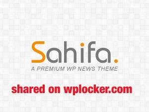 Sahifa (shared on wplocker.com) newspaper WordPress theme