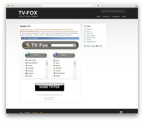 statement template WordPress free - toolbar.tv-fox.com
