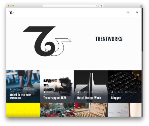 Template WordPress Betheme - trentworks.nl