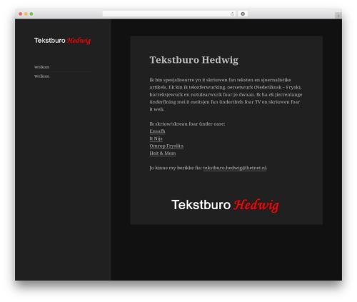 Template WordPress Twenty Fifteen - tekstburohedwig.nl