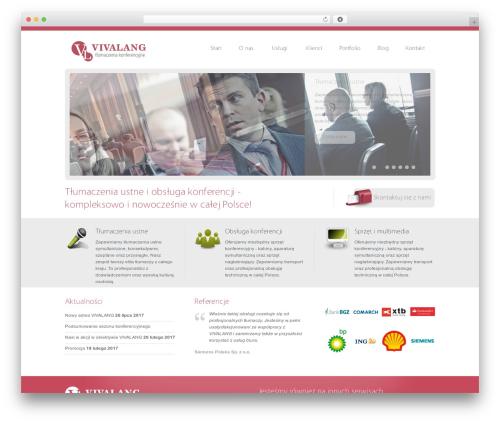 Template WordPress Vulcan - tlumaczenia-konferencyjne.com