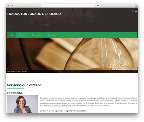 Theme WordPress Attorney - traductorjuradopolaco.es