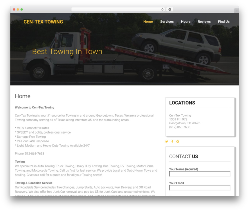 Towy WP template - towingingeorgetowntexas.com