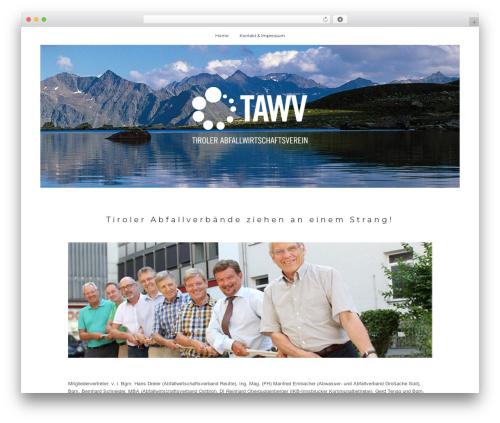 True North WP theme - tawv.tirol