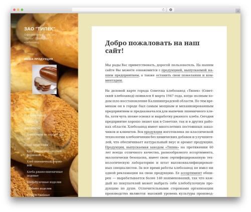 Twenty Fifteen free WordPress theme - tipek.ru