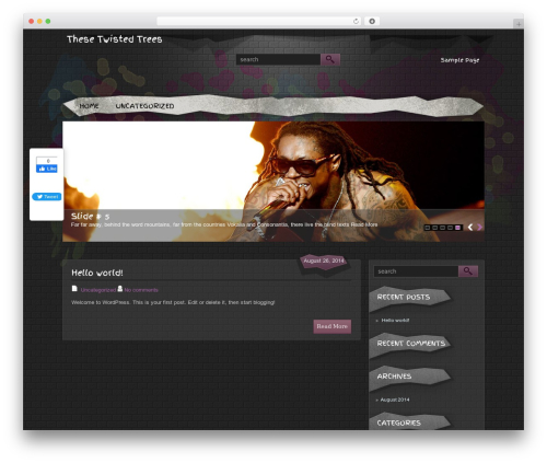 HipHop best WordPress theme by The Smart Magazine Themes