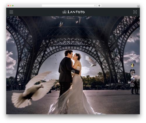 Best WordPress template GOODWIN - lan-foto.com