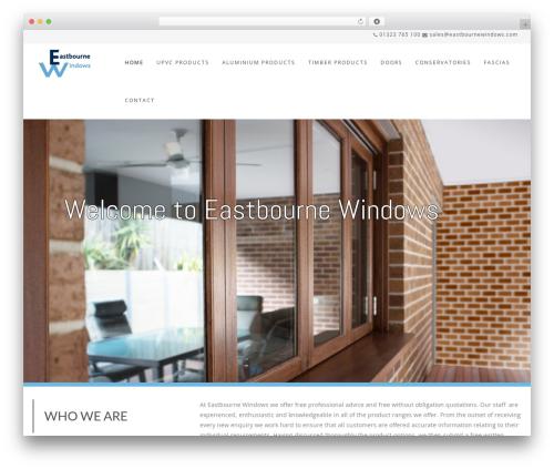 Best WordPress template Wp Haswell - eastbournewindows.com